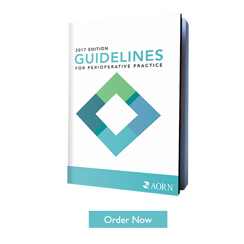 Order the 2017 Edition of Guidelines for Perioperative Practice