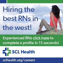 SCL Health -- Hiring the best RNs in the west!