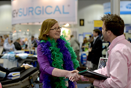 Exhibit hall at the AORN Surgical Conference & Expo
