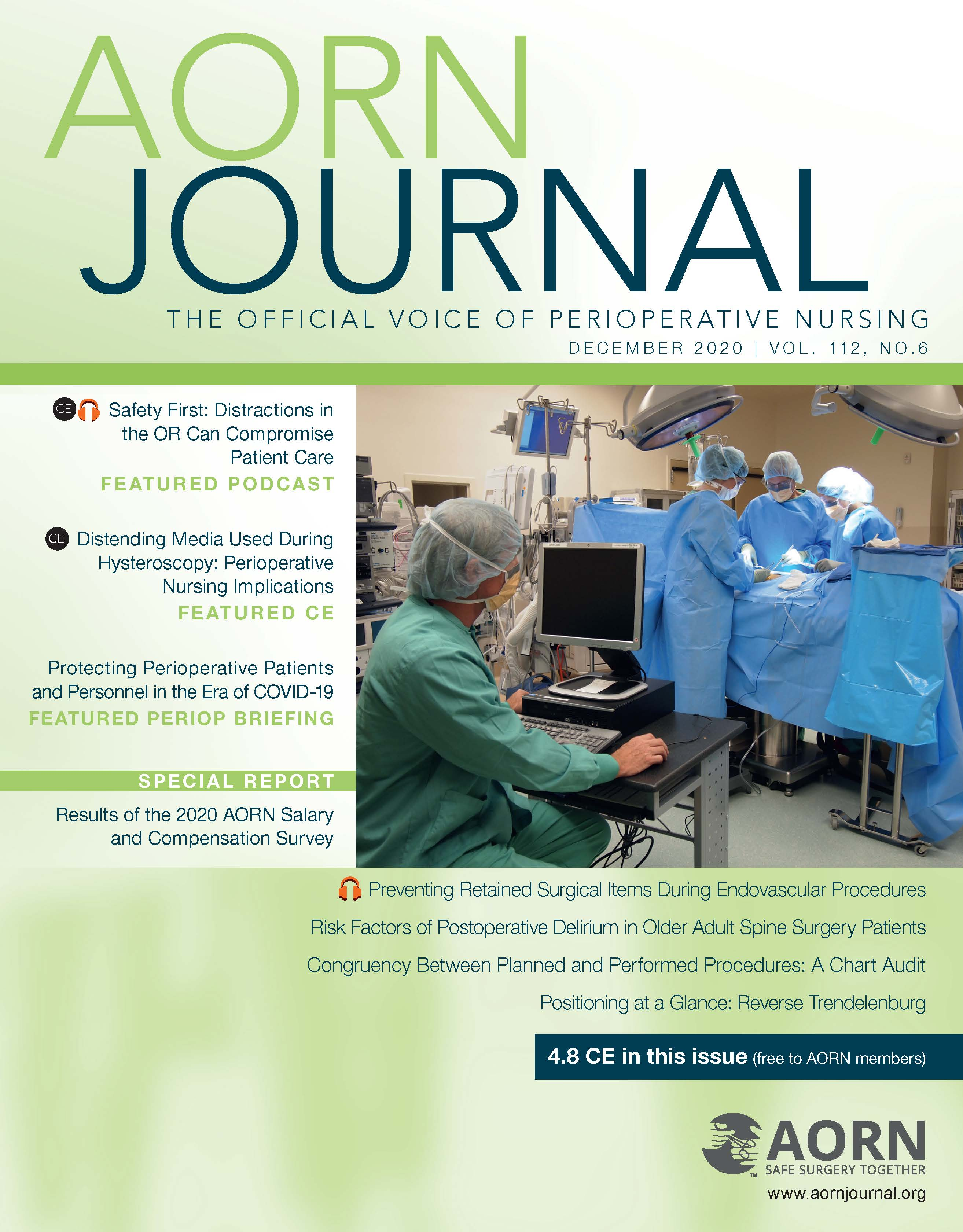 AORN Journal December Cover