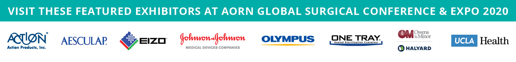AORN Global Surgical Conference & Expo - Featured Exhibitors