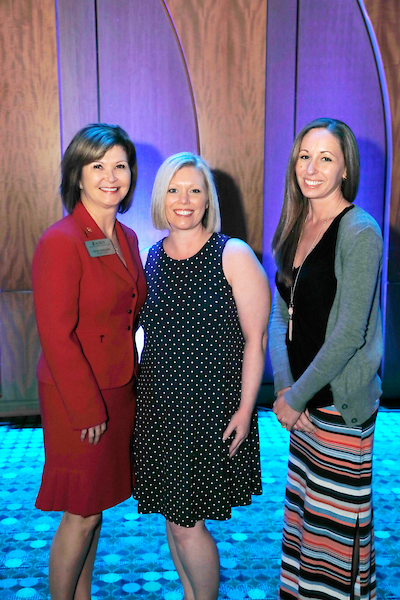 Missi Merlino and the Expo attendees she sponsored