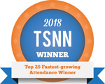 2018 TSNN Top 25 Fastest-growing Attendance Winner